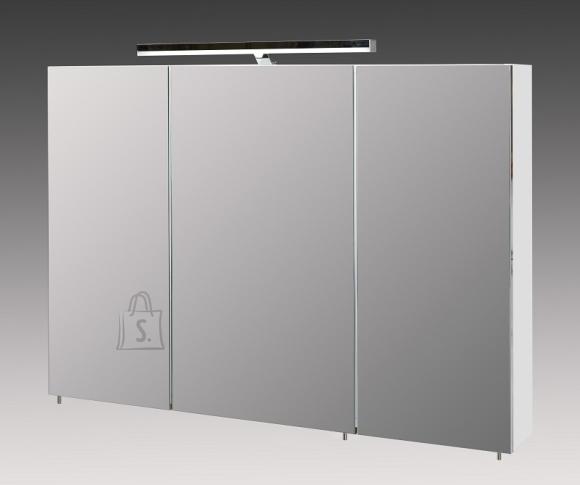 Peegelkapp ARES valge, 100x16xH75 cm, LED