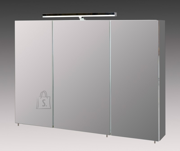 Peegelkapp ARES tumehall, 100x16xH75 cm, LED
