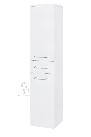 Vannitoakapp SIENA valge läige, 33x35,5xH159,5 cm
