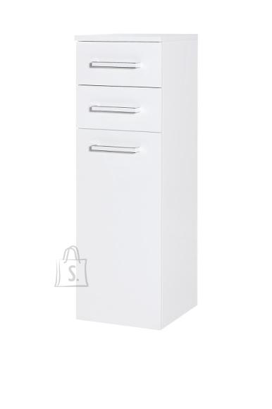 Vannitoakapp SIENA valge läige, 33x35,5xH105 cm