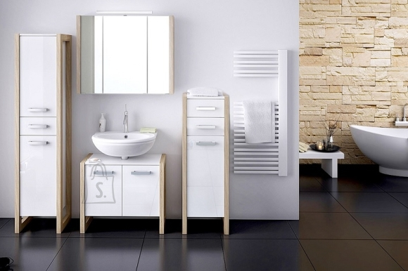 Schildmeyer Vannitoamööbli komplekt TICO valge / tamm, LED