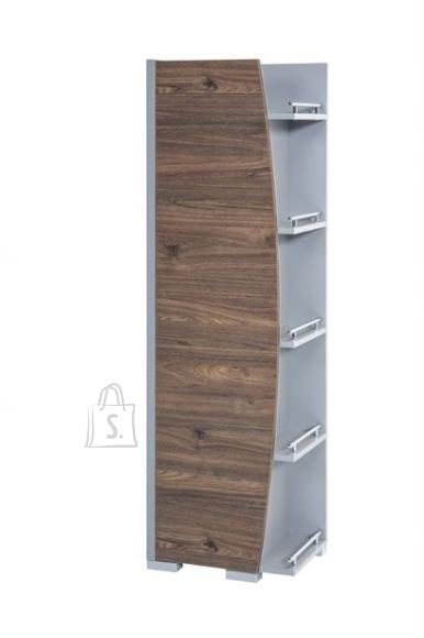 Schildmeyer Vannitoakapp SUNNY pähkel / hall, 42,5x32xH147,8 cm