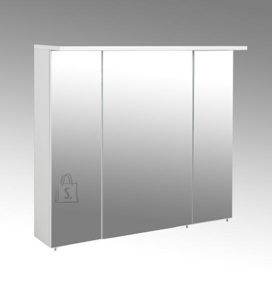 Schildmeyer Peegelkapp PROFIL 16 valge läige, 80,5x15,8xH72,5 cm, LED