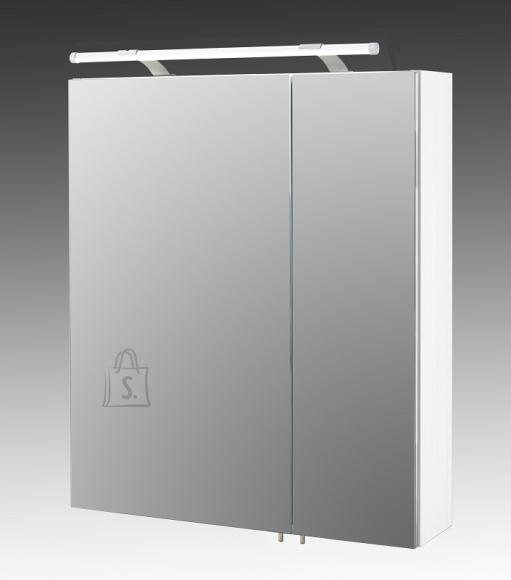 Schildmeyer Peegelkapp DORINA valge läige, 60x15,8xH71 cm, LED