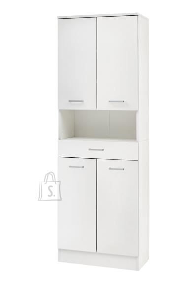 Schildmeyer Vannitoakapp LORENZ valge, 60x32xH182 cm