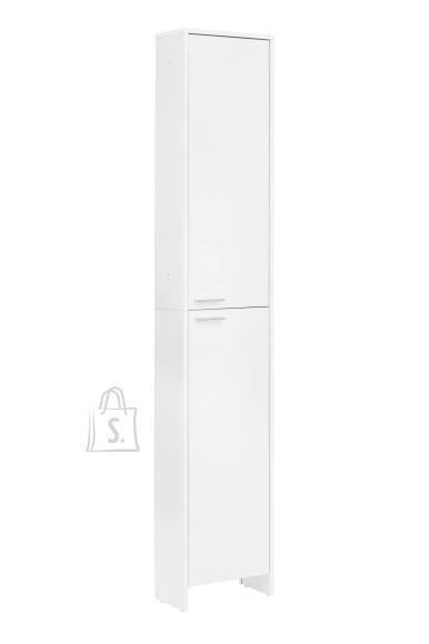 Schildmeyer Vannitoakapp LUIS valge läige, 36x20xH197 cm
