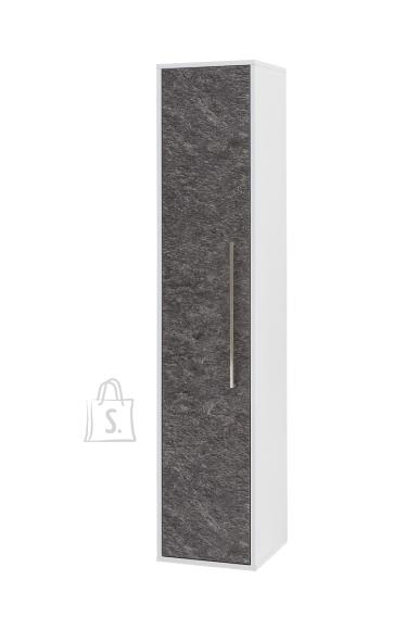 Schildmeyer Vannitoakapp LUKE hall / valge, 33x33xH160,5 cm