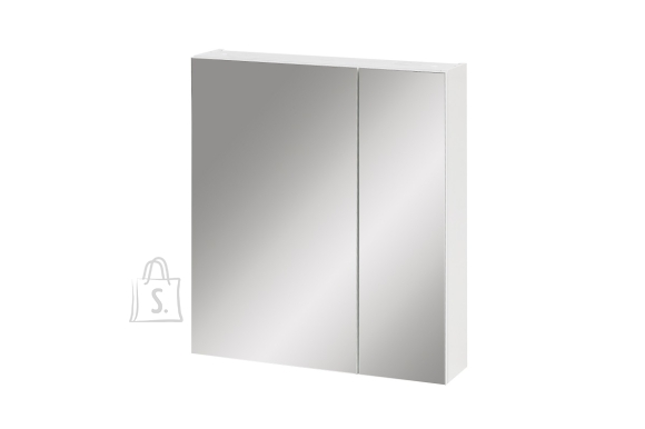 Schildmeyer Peegelkapp LABIN valge, 60x16xH71 cm