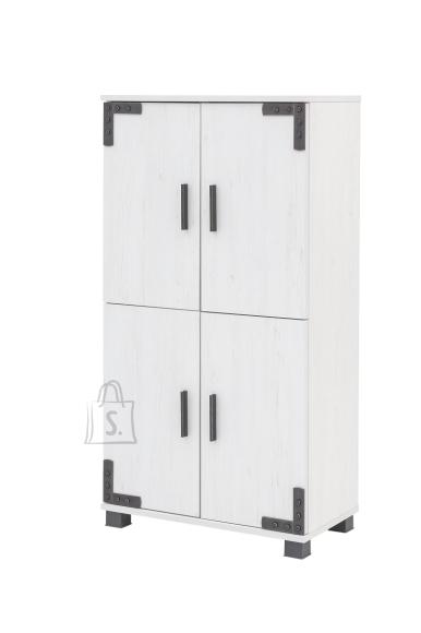 Schildmeyer Vannitoakapp ZADAR valge, 60x32,5xH117 cm