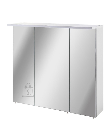 Schildmeyer Peegelkapp PROFIL 16 valge läige, 70,5x15,8xH72,5 cm, LED