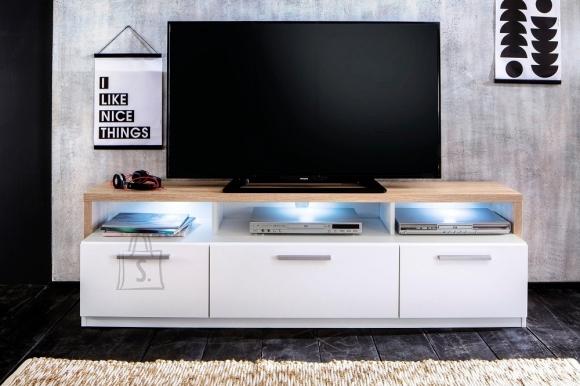 Trendteam TV-alus MAMMUT valge / tamm, 171x40xH47 cm LED