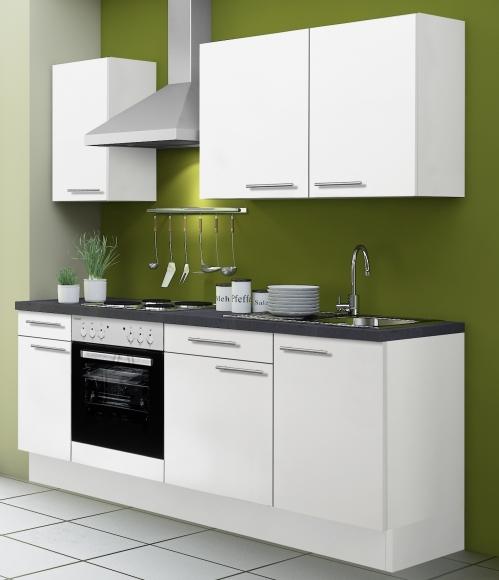 OPTIbasic Köögikomplekt OPTIkoncept valge 210 cm