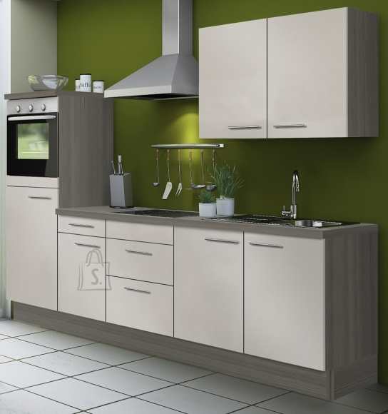Köögikomplekt OPTIkoncept beež 270 cm
