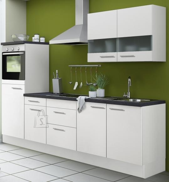 OPTIbasic Köögikomplekt OPTIkoncept valge 270 cm
