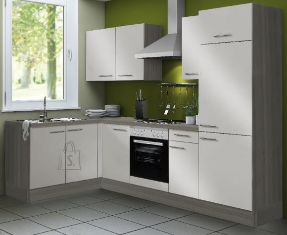 Köögikomplekt OPTIkoncept beež 270 x 165 cm