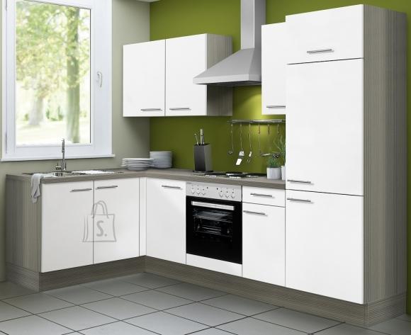 OPTIbasic Köögikomplekt OPTIkoncept valge läikega 270 x 165 cm