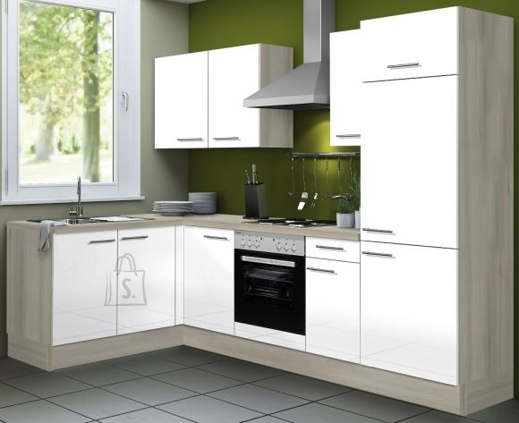 OPTIbasic Köögikomplekt OPTIkoncept valge kõrgläige 270 x 165 cm