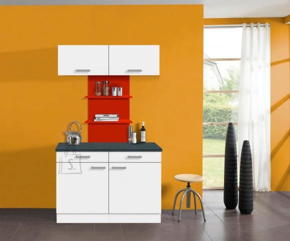 OPTIbasic Köögikomplekt OPTIkontrast 120 cm - 6 viimistlust