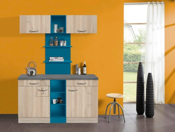 OPTIbasic Köögikomplekt OPTIkontrast 150 cm - 6 viimistlust