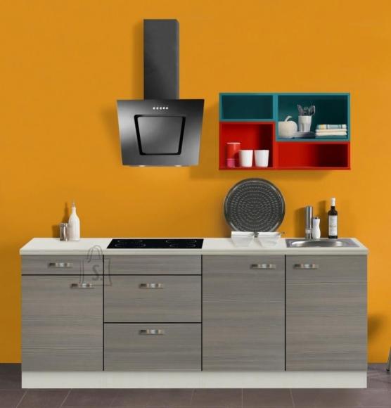 OPTIbasic Köögikomplekt OPTIkontrast 210 cm - 6 viimistlust