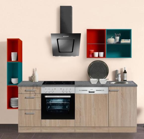 OPTIbasic Köögikomplekt OPTIkontrast 229 cm - 6 viimistlust