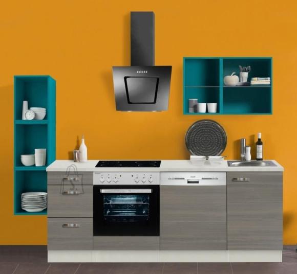 OPTIbasic Köögikomplekt OPTIkontrast 242 cm - 6 viimistlust