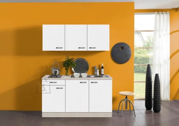 OPTIbasic Köögikomplekt OPTIflexx 150 cm, valge või antratsiit