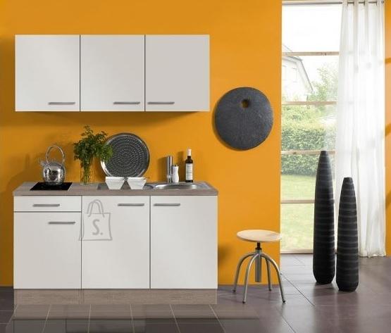 OPTIbasic Köögikomplekt OPTIflexx 150 cm, beež läikega või punane läikega