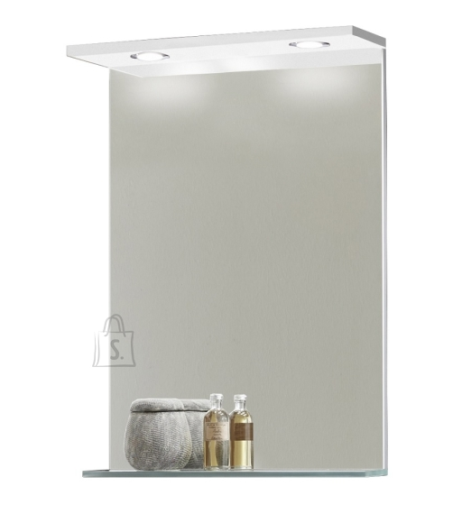 Peegel OPTIbasic 4040 valge, 60x2,5xH70,5 cm LED