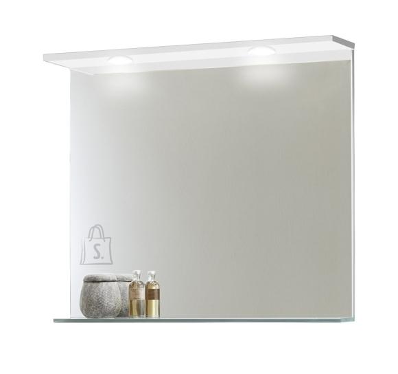 Peegel OPTIbasic 4040 valge, 80x2,5xH70,5 cm LED