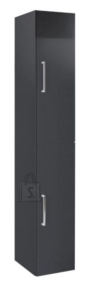Vannitoakapp OPTIbasic 4050 antratsiit läikega, 30x35xH179 cm