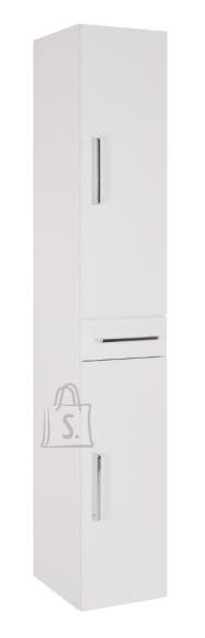 Vannitoakapp OPTIbasic 4050 valge läikega, 30x35xH179 cm