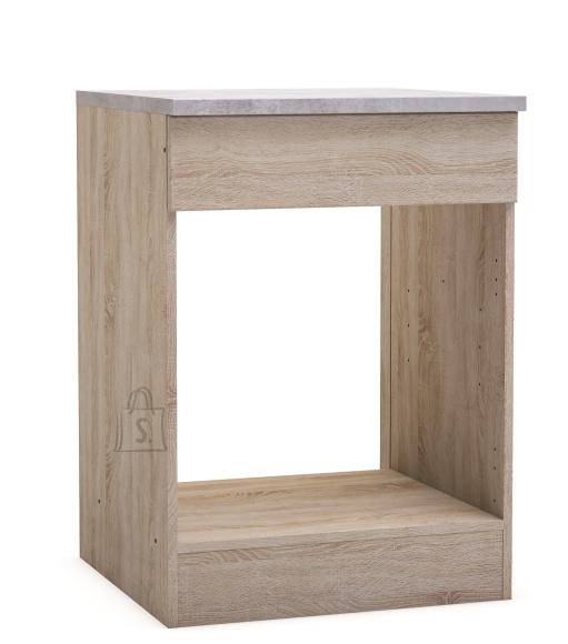 Demeyere Köögikapp ahjule PAPRIKA tamm, 60x60xH84,5 cm
