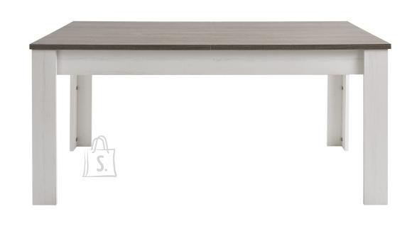 Demeyere Söögilaud MARQUIS 170/230x90xH77 cm, valge / tamm