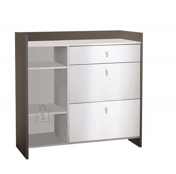 Demeyere Köögikapp BATTERY valge, 105,5x39,7x104 cm