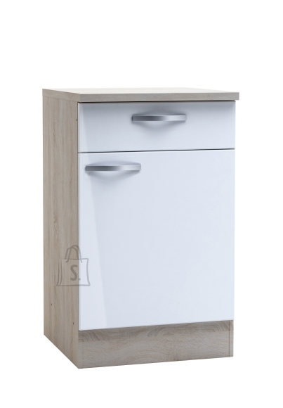 Demeyere Köögikapp CHANTILLY tamm/valge, 50x60xH85cm