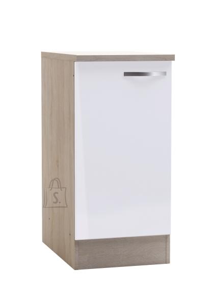 Demeyere Köögikapp CHANTILLY tamm/valge, 40x60xH85cm