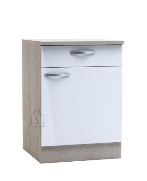 Demeyere Köögikapp CHANTILLY tamm/valge, 60x60xH85cm