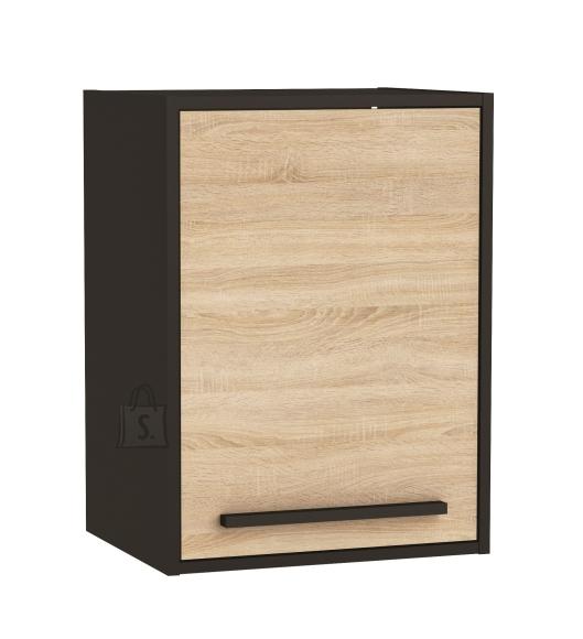 Demeyere Köögikapp FABRIK tamm/must, 44,3x35xH60cm