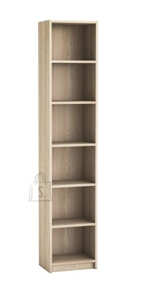 Demeyere Raamaturiiul OPTIMA hele tamm, 40,2x29xH198 cm