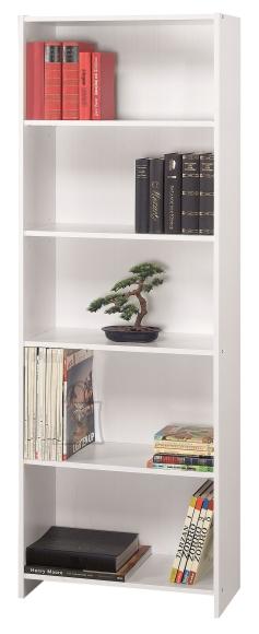 Demeyere Raamaturiiul FOLIO valge, 60,3x24,4xH169 cm