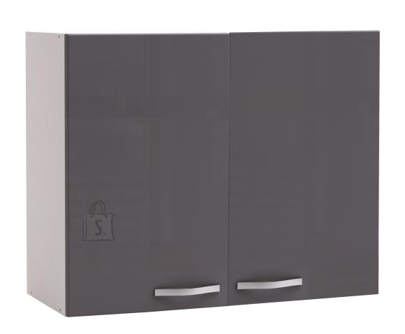 Demeyere Köögikapp SPICY hall/valge, 100x30xH70cm