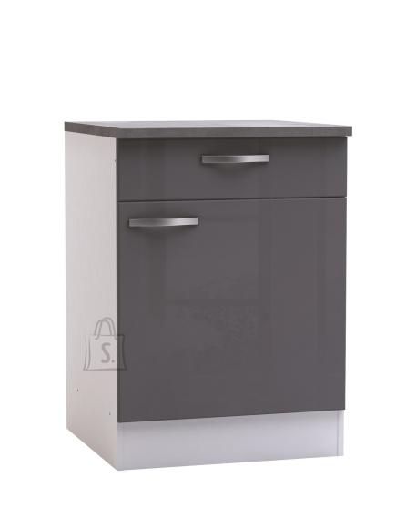 Demeyere Köögikapp SPICY hall/valge, 60x60xH85cm
