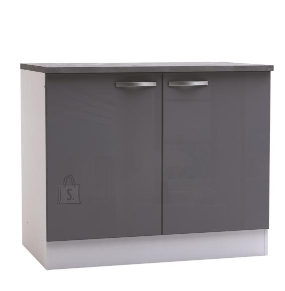 Demeyere Köögikapp SPICY hall/valge, 100x60xH85cm