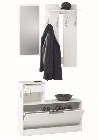 Demeyere Esikukomplekt CLOTHHANGE valge, 98x26xH200 cm