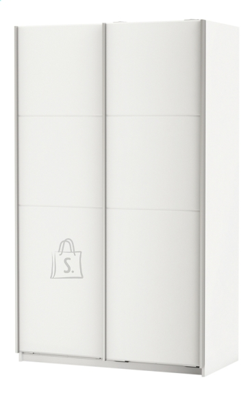 Demeyere Riidekapp FAST 2 valge, 121,6x64,7xH203cm