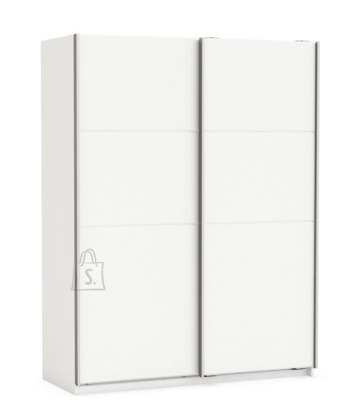 Demeyere Riidekapp FAST 2 valge, 153,6x64,7xH203 cm