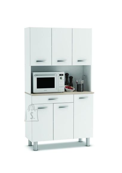 Demeyere Köögikapp PASTA akaatsia/valge, 101x42,3xH185,3cm