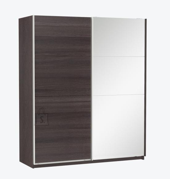 Demeyere Riidekapp SLIDY eeben, 169,7x65xH203cm