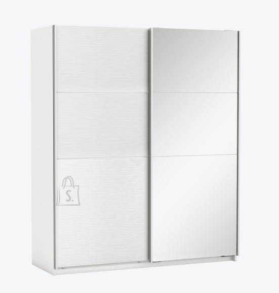 Demeyere Riidekapp SLIDY valge, 169,7x65xH203 cm